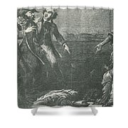 The Capture Of Margaret Garner Shower Curtain