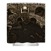 The Castle Of Tavastehus Bw Shower Curtain