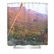 The Colors Of Evening Shower Curtain