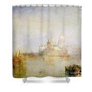 The Dogana And Santa Maria Della Salute Venice Shower Curtain