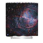 The Dumbbell Nebula Shower Curtain