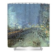 The El Shower Curtain by Childe Hassam