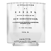 The Federalist, 1788 Shower Curtain