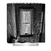 The Hiding Artist Shower Curtain by Jerry Cordeiro