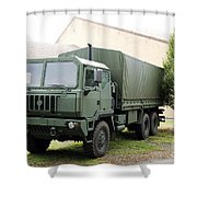 The Iveco M250 8 Ton Truck Used Shower Curtain
