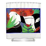 The Last Erotic Geisha Shower Curtain