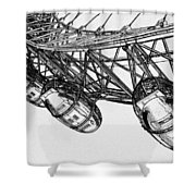 The London Eye Shower Curtain