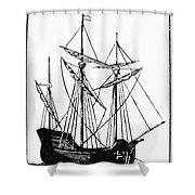 The Mayflower Shower Curtain