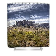 The Superstitions  Shower Curtain