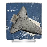 The Underside Of Space Shuttle Shower Curtain