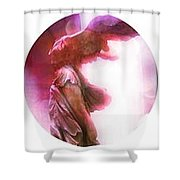 The Winged Victory - Paris - Louvre Shower Curtain