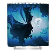 The Wolf Within Shower Curtain