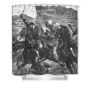 The Zulu War, 1879 Shower Curtain