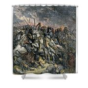 Third Crusade, 1191 Shower Curtain
