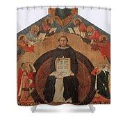 Thomas Aquinas, Italian Philosopher Shower Curtain
