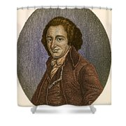 Thomas Paine, American Patriot Shower Curtain
