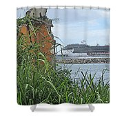 Thrust Shower Curtain