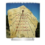 Time ... Shower Curtain