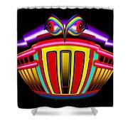 Tin Bank Shower Curtain