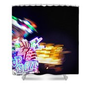 Top Buzz Shower Curtain