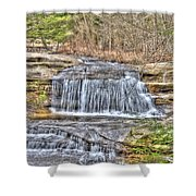 Top Of The Upper Falls Shower Curtain