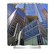 Toronto Financial Core Buildings Shower Curtain