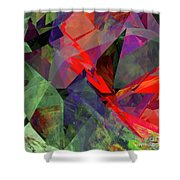 Tower Series 26 Shower Curtain