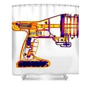 Toy Vortex Gun Shower Curtain
