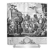 Treaty Of Ghent, 1814 Shower Curtain