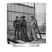 Treaty Of Picquigny Shower Curtain