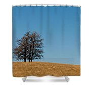Tree Formation On A Hill Shower Curtain