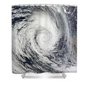 Tropical Cyclone Dianne Shower Curtain