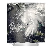 Tropical Storm Fay Shower Curtain