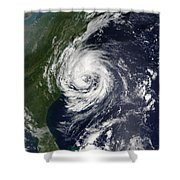 Tropical Storm Gustav Shower Curtain