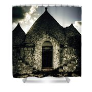 Trulli Shower Curtain