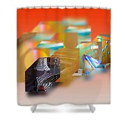 Tsunami Interior Shower Curtain