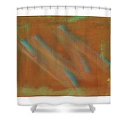Tsunami Iv  Shower Curtain