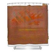 Tsunami Morning Shower Curtain
