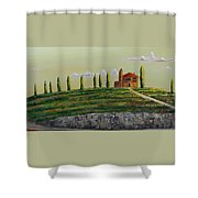 Tuscan Guest House Shower Curtain