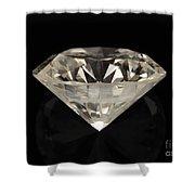 Two Karat Diamond Shower Curtain
