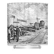 Underground Village, 1874 Shower Curtain