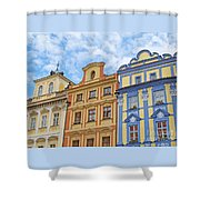 Uniquely Prague Shower Curtain