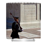 Unknown Soldier Shower Curtain