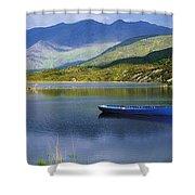 Upper Lake, Killarney, Co Kerry Shower Curtain