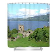 Urquhart Castle Shower Curtain