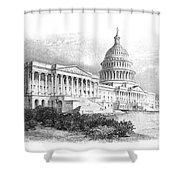 U.s. Capitol Shower Curtain