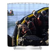 U.s. Navy Seal Candidates Participate Shower Curtain