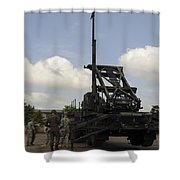 U.s. Soldiers Teach The Polish Military Shower Curtain