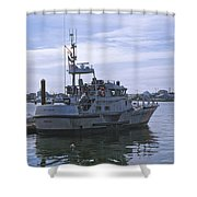 Uscg 47' Lifeboat - 1 Shower Curtain