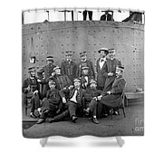 U.s.s. Monitor, 1862 Shower Curtain